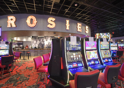 Rosie's Gaming Emporium - Lighting by Tate & Hill Electrical