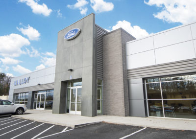 Malloy Ford Dealership Exterior